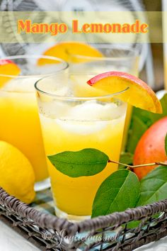Remove seeds from lemon juice, but leave pulp. In a pitcher, stir together chilled syrup, lemon juice, mango puree and remaining 7 cups water. Serve immediately chilled or on ice. (You can also freeze them in ice cube trays and make a mango lemonade slushie!)