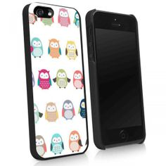 Little Cute owls iphone 4/4s iphone 5/5s/5c note 2 by 5scaserubber, $13.89