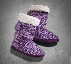 c4c057dc152bdb Women s Marled Knit Slipper Boot