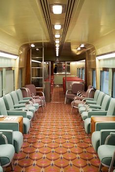 Inside a vintage train car custom train interiors passenger cars, inside a vintage train car parade of trains 2013 in Level Design, Old Train Station, Rail Car, Old Trains, Vintage Interiors, Train Tracks, Vintage Travel, Locomotive, Collage