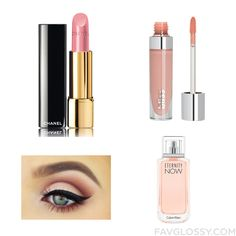 Cosmetics Recipes With Chanel Lipstick Lip Gloss Makeup Calvin Klein Fragrance And Sexy Eye Makeup From December 2015 #beauty #makeup
