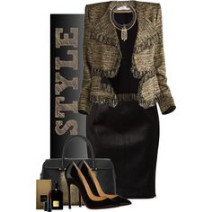 A fashion look from January 2015 featuring Rebecca Minkoff skirts, Christian Louboutin pumps and Tiffany & Co. handbags. Browse and shop related looks.