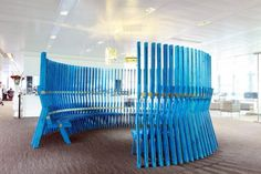 intriguing seating system just appeared in the portfolio of London-based furniture designer Fabien Capello