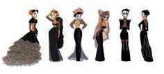 Día de los Muertos, an art print by Erin Kavanagh Character Concept, Character Art, Concept Art, Game Design, Character Illustration, Illustration Art, Memes Arte, Animation, Character Design References
