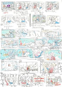 Storyboard Examples, Animation Storyboard, Anatomy Sketches, Anatomy Drawing, Comic Tutorial, Comic Layout, Comic Drawing, Art Poses, Cool Animations