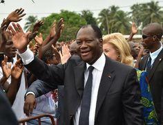 CÔTE D'IVOIRE: GRAND-MESSE POUR L'INVESTITURE DU CANDIDAT OUATTARA