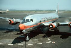 American Airlines DC-6 - June 1957. Viewliner Ltd.: Aviation
