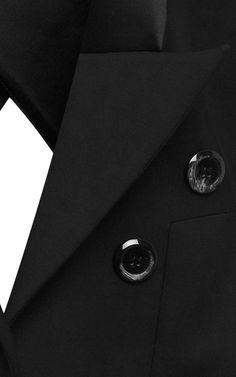 Christen Satin-Trimmed Cut-Out Jacket by Ellery - Moda Operandi