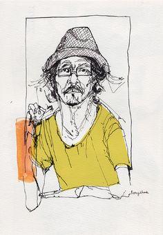 Drawing Reportage - www.jesicalewit.com