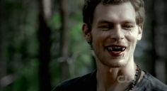 For those of you who don't know, he's a hybrid, which makes him a vampire AND a werewolf. | 22 Reasons Why Klaus Is An Undeniably Hot Sociopath