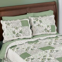 Collections Etc, Bedding Collections, Coral Bedding Sets, Pillow Shams, Bed Pillows, Rag Quilt Patterns, Fish Quilt, Chenille Bedspread, Patchwork Pillow