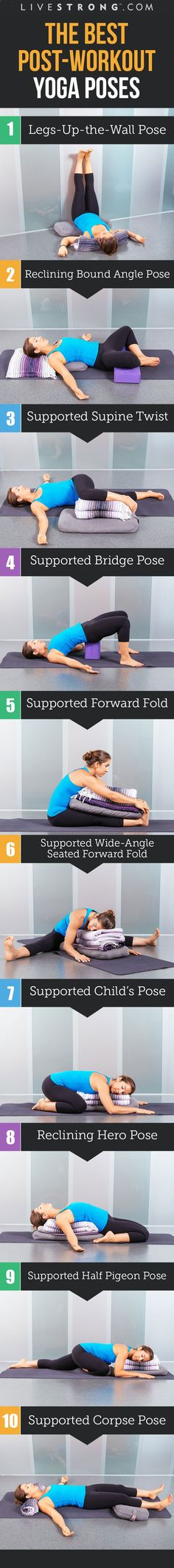 10 Yoga Poses to Help You Recover from Your Workouthttp://www.livestrong.com/slideshow/1011474-10-yoga-poses-recover-workout/