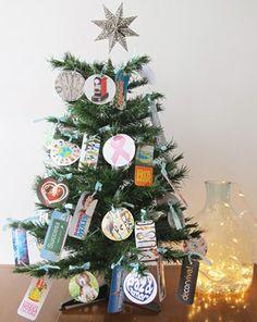 Faça sua própria árvore de natal