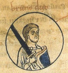 Bruno, Brun, or Braun (died 2 February 880) was Duke of Saxony from 866 to his death. He was the eldest son of the Saxon count Liudolf and his wife, Oda of Billung. Bruno is rated as the progenitor of the Brunonen noble family, a branch of the Ottonian dynasty. My 35th GGPA.