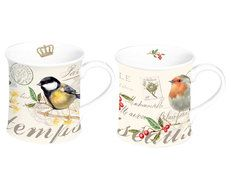 Mug Nature, 2-set. Porslinsmuggar i presentbox.