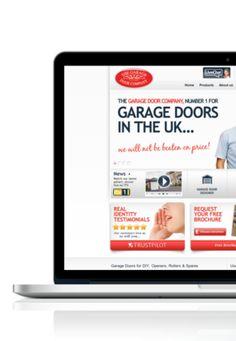 The Garage Door Company - Website, Garage Door Designer, Spares Shop