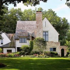 Townsend Homes, Port Townsend, Colonial Exterior, Exterior Paint Colors, Paint Colours, Tudor House, Exterior Makeover, French Cottage, Classic House