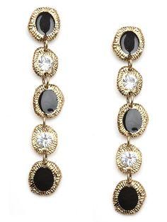 Etch Base Drop earrings