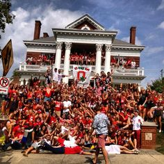 Just a casual tailgate. TFM.