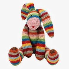 Haakpatroon konijn - crochetpattern bunny