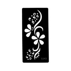 1 Piece Hollow Tattoo Template Black Color Henna Tattoo Stencil Flower Dot Drawing on Woman Arm Art for Airbrush Painting Stencil Stickers, Cricut Stencils, Air Brush Painting, Dot Painting, Stencil Designs, Henna Designs, Henna Tattoo Stencils, Temple Design For Home, Dotted Drawings