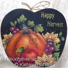 Happy Harvest Pattern - Kathleen Whiton - PDF DOWNLOAD