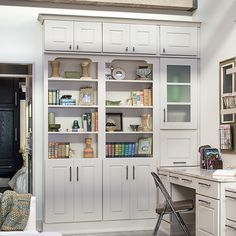 Wellborn Cabinets for your living room!