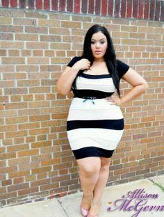 plus size/ curvy girl fashion Curvy Girl Fashion, Plus Size Fashion, Womens Fashion, Justine Legault, Plus Size Dresses, Plus Size Outfits, Plus Sise, Pernas Sexy, Image Fashion