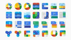 Found by Leigh Hibell Calendar App, Google Calendar, Icon Design, Logo Design, Best Icons, User Experience Design, App Logo, Creative Icon, Marketing Materials