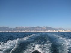 Sur un bâteau bus à Toulon