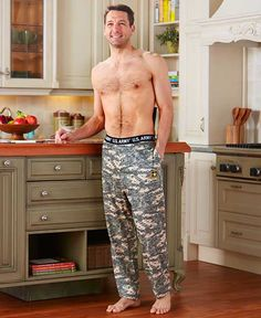 Official Army® Camouflage Loungewear | LTD Commodities