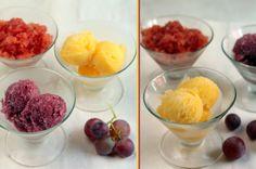 sorbetes de frutas