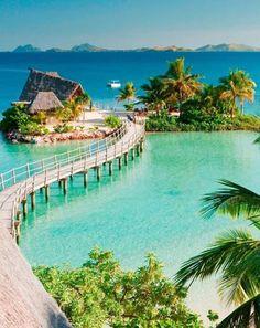 Beautiful Likuliku Lagoon Resort In Malolo Island – Fiji