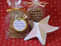 12 Days of Edible Gifts: Bacon, Blue Cheese, & Pecan Cookies