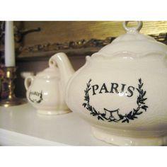 Mantel teapots