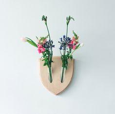 Trophée fleurs