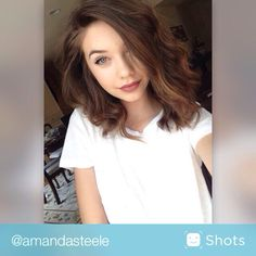 Im in LOVE with Amanda steele's hair!! Thinking of cutting mine like hers??!