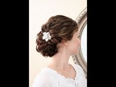 Wedding hair video tutorial For medium long with layers