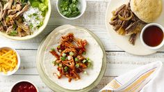 Slow-Cooker Mexican Pork Burrito Bowls, Slow-Cooker Shredded Mexican ...