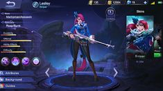 GoGame: Lesley Mobile Legends : Hero Marksman Dengan Criti...