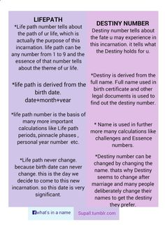 Numerology Spirituality - Life path and destiny numbers are both very important numbers. They give our life the direction and purpose. When these two numbers are in sync with each other ; either same or in the same set of. Get your personalized numerolo Numerology Numbers, Astrology Numerology, Numerology Chart, House Numerology, Numerology Compatibility, Tarot Astrology, Astrology Chart, Astrology Zodiac, Zodiac Signs