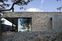 Каменный дом в горах