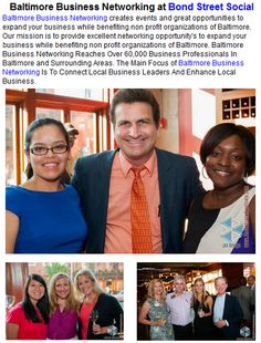 Baltimore Business Networking at Bond Street Social