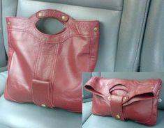 Выкройки модных сумок из кожи. .  - Каталог сумочек, клатчей, портфелей…