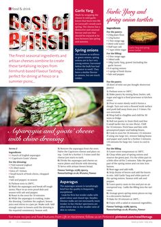 ~ Best of British ~ Using seasonal ingredients to create delightful dishes... #locallife #Haslemere #Surrey #food #recipes #ideas #inspiration