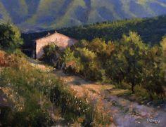 Chemin vers Sisteron
