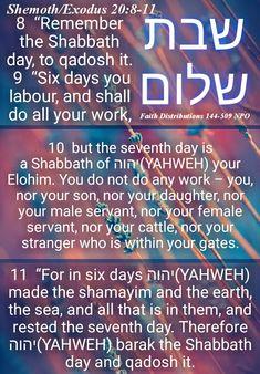 Shabbath Shalom mishpacha! Baruk in qodeshah. HalleluYAH