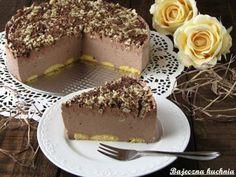 Sernik mocno czekoladowy bez pieczenia