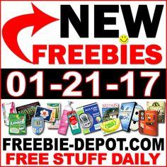 ►► NEW FREEBIE HOTLIST – FREE Stuff for January 21, 2017 ►► #Free, #FREEStuff, #Freebie, #Frugal, #HOTLIST ►►