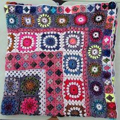 (4) Name: 'Crocheting : Brighton Afghan